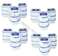 36 x 200ml Mini Storage Boxes Plastic Kitchen Container Small Food Sauce Baby
