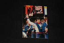 """MIKE ERUZIONE 1996 UD OLYMPICS SIGNED AUTOGRAPHED CARD #69 """"MIRACLE ON ICE"""""""