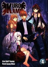KURO KAMI   BLACK GOD    MANGA  N° 4     EDITIONS  I-OON