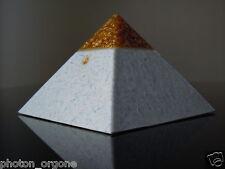Orgone 23k Gold White Spiritual Meditation Awakening Pyramid Tensor Ring Tesla