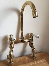 Antique Gold Br Bridge Mixer Kitchen Tap New Rrp Over 300 Ideal Belfast
