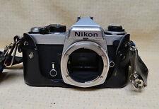 Nikon FE 35mm Camera Nikkor-HC Auto 1:2 50mm, Vivitar 28-90mm & 70-210 + Accesso