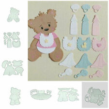 Bear Lace Metal Cutting Dies Die Cutter Stencils DIY Making Album Card Diary