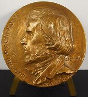 Medal 1968 Eugene Delacroix Sc Préault 68 mm Medal