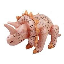 70cm Dinosaur Triceratops Inflatable Decoration Blow up Toy Kids Party Favor