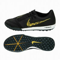 Nike Zoom Phantom Venom Pro TF Turf Soccer Cleat Black Gold BQ7497-077 Men's NEW