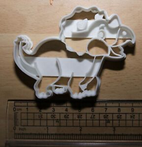 Triceratops dinosaur Cookie or fondant  Cutter 3d printed