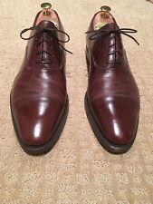Enzo Bonafe Etrusco Brown Oxford Shoes Size UK10/US11