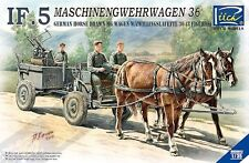 ENSEMBLE HIPPOMOBILE ALLEMAND, REMORQUE IF-5 - KIT RIICH MODELS 1/35 N° 35012