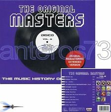 THE ORIGINAL MASTERS 5 CD DISCO EXTENDED VERSIONS ITALO