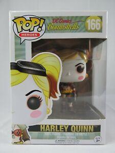 Heroes Funko Pop - Harley Quinn - DC Comics Bombshells - No. 166