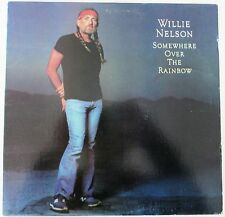 "Willie Nelson ""Somewhere Over the Rainbow"" LP Vinyl 1981 Record PC 36883 (EX)"