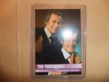 ROGER MOORE TONY CURTIS THE PERSUADERS UNSTOPPABLE PROMO CARD P1 ITC SAINT BOND