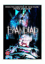 BRAINDEAD DVD PETER JACKSON Film Original Movie UK R2 BRAIN DEAD ALIVE New