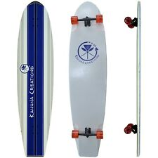 "KAHUNA CREATIONS BOMBORA 59"" LONGBOARD COMPLETE - BLUE was £319 LAND PADDLE SUP"