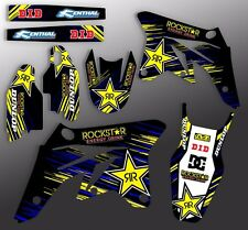 1998 1999 2000 2001 2002 YAMAHA YZ250F YZ400F YZ426F ROCKSTAR DIRT BIKE DECALS