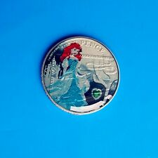 DISNEY PRINCESS ARIEL ENAMELLED 10P COINS TEN PENCE 🎅✨ DP1