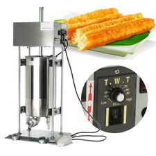 15L Commercial Auto Electric Spanish Doughnuts Churros Maker Machine W 5 Models