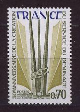 FRANCIA/FRANCE 1975 MNH SC.1454 Land mine demolition service