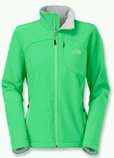 NEW MSRP $149 THE NORTH FACE WOMENS APEX BIONIC SOFTSHELL SKI JACKET SMALL GREEN
