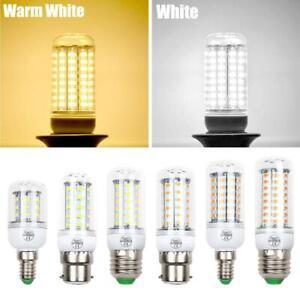 3/3.5/3.7/4/4.3/5W LED Corn Light Bulb B22 E14 E27 Screw Base Bright White Lamp