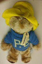 vintage 1981 paddington bear doll plush stuffed animal movie good condition show