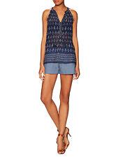 NWT  $158 Joie  Sivan Cotton Back Welt Drawstring Short Size XXS