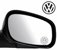 4 x VW style Etched Glass Effect Styling vinyl Sticker Decal Badge Mirror Camper
