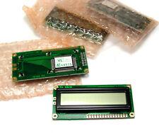 4x MDL16166-LV-RC LCD / MDL 16166, 1x16 Character Alphanumeric Display, NOS