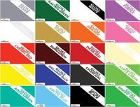 "Ceramic Wall Tile Stickers 6""Sq Bathroom Kitchen Transfer 20 Colours Multi-packs"