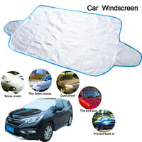 Car Windscreen Windshield Cover Ice Frost Shield Snow Protector Sun Shade Covers