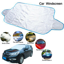 190cm*95cmcar Windscreen Cover Ice Frost Shield Snow Dust UV Protector Sun Shade