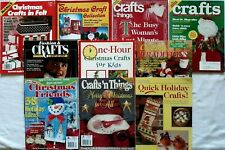 (10) Christmas Crafts Books - Crafts 'n Things, Crafts & Misc. Christmas