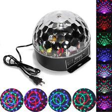 20W DMX512 Disco Stage Lighting Digital LED RGB Crystal Magic Ball Effect Light