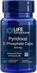Life Extension Pyridoxal 5 Phosphate Caps: Boost Energy with Vitamin B6