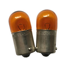 2PCS Genuine Turn Signal Lamp Bulb RY10W 12093 5009 Amber Color Turn Light Bulbs