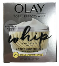 NEW Olay Total Effects Whip Active Moisturizer With Sunscreen SPF 25 Exp:06/2021