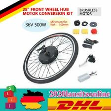 "28"" 36V 500W Elektrofahrrad Vorderrad E-Bike Umbausatz Frontmotor Conversion Kit"