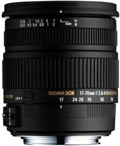 Sigma 17-70mm f2.8-4.0 DC Macro HSM für Pentax K