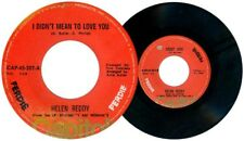 Philippines HELEN REDDY I Didn't Mean To Love You 45 rpm Record