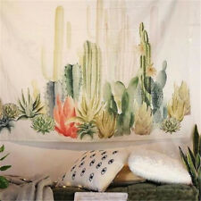 "57""x57"" Cactus Desert Plant Tapestry Wall Hanging Living Room Dorm Home Decor"