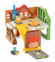 VTech Toot-Toot Drivers Cory Carson O'Tooles Construction Site, Toy Car Garage