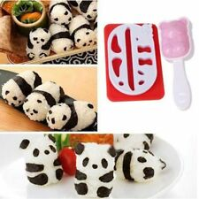 1Set Cute Panda Shape Sushi DIY Rice Ball Mold Onigiri Mould Kitchen Make Tool