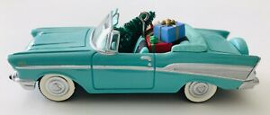 1957 Chevrolet Bel Air Hallmark Christmas Ornament Classic Cars #4 in Box 1994
