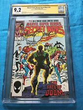 Marvel Super Heroes Secret Wars #11 - Marvel -CGC SS 9.2 -Signed by Zeck, Beatty