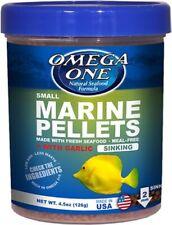 Omega One Garlic Marine Small Sinking Pellets 4.5 oz