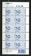 Nederland Nikkels V2135c 10 x 10 cent TNT-logo - POSTFRIS cat waarde € 3,50