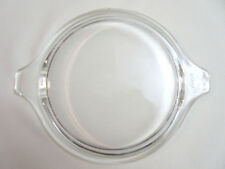 470-C Pyrex round clear glass Replacement Lid with tab Handles, fits 471-473