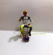 1:12 Conversión Minichamps Figure Figurine + Helmet Valentino Rossi 2004 Test