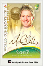2007-08 Select Cricket Cards World Cup Hat Trick WSC33 Michael Clarke